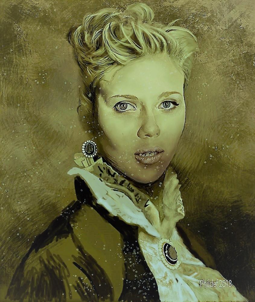 Scarlett Johansson by Phildef